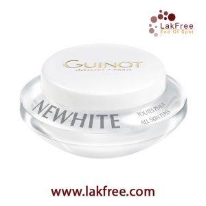 کرم شب روشن کننده نیووایت گينو (Guinot Newwhite Night Brightening Cream)